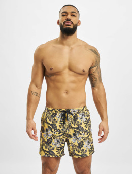 Only & Sons Swim shorts onsTed  yellow