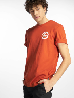 Only & Sons T-shirt onsEdward Logo arancio