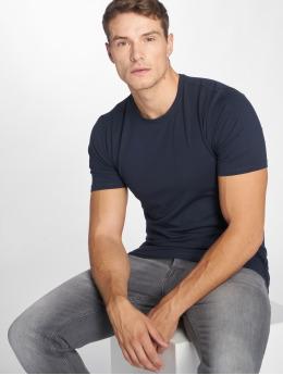 Only & Sons T-Shirt onsBasic Slim O-Neck blau