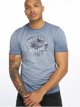 Only & Sons T-Shirt onsPatrik Oil Dye blau