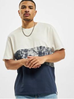 Only & Sons T-Shirt Ons Teddy Block Life REG NF 0261 bleu