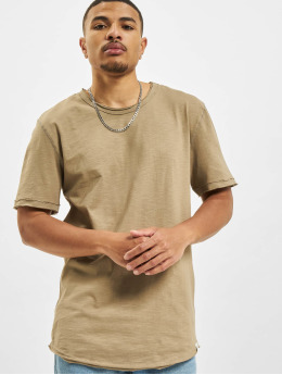 Only & Sons T-Shirt Ons Benne Life Longy NF 7822 brun