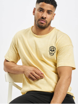 Only & Sons t-shirt onsCali Life Drop geel