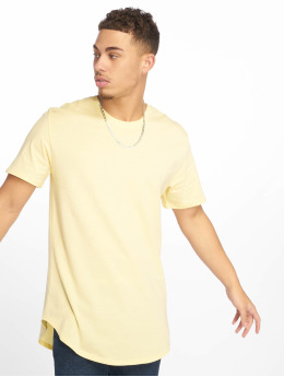 Only & Sons T-Shirt onsMatt Longy Noos  jaune