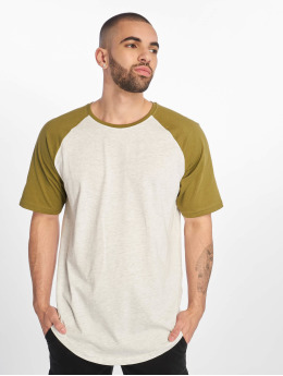 Only & Sons | onsLogan Raglan Longy blanc Homme T-shirt long oversize