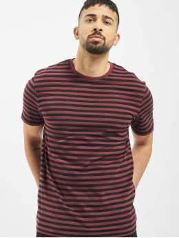 Only & Sons t-shirt onsJamie Stripe Regular Noos rood