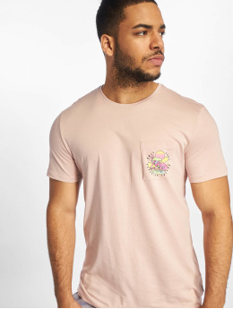 Only & Sons T-Shirt onsPetoskey Fitted Camp rosa