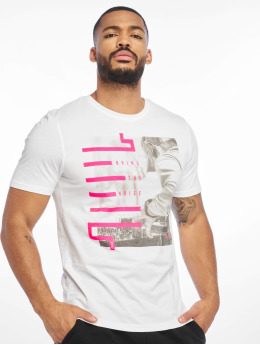Only & Sons T-Shirt onsPetal Fitted Camp weiß
