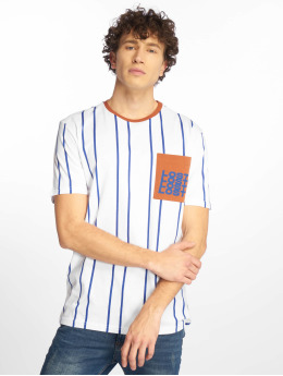 Only & Sons T-Shirty onsStripe Pocket bialy