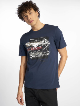 Only & Sons T-Shirty onsEinar Camp Fitted niebieski