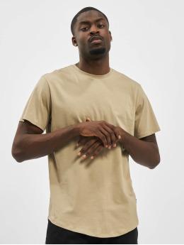 Only & Sons T-skjorter onsMatt Life Longy Noos beige