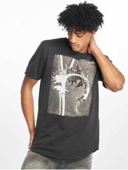 Only & Sons Tall Tee onsMatt Longy Raw Edge Tall grå