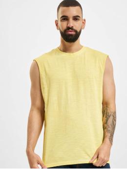 Only & Sons Tank Tops Onsaslan Life SL yellow