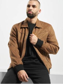 Only & Sons Veste & Blouson en cuir onsLebron brun