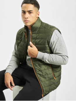 Only & Sons Vesty onsGeorge Quilted olivová