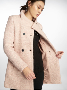 Only Abrigo onlSophia Boulce Wool rosa