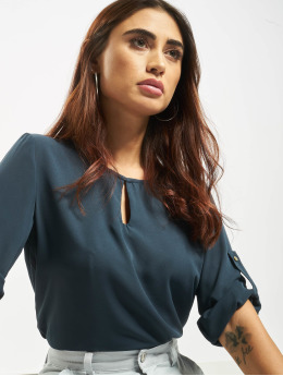 Only Blouse onlFagnes Life 3/4 Woven blauw