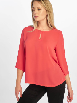 Only Blouse onlFagnes Life 3/4 Woven rood