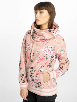 Only Bluzy z kapturem onlLuna rózowy