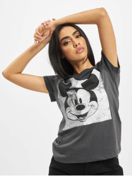 Only Camiseta onlMickey Minnie Face Jersey gris