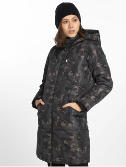 Only Cappotto onlElin mimetico