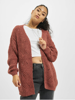 Only Cardigan onlHavana Long  rouge