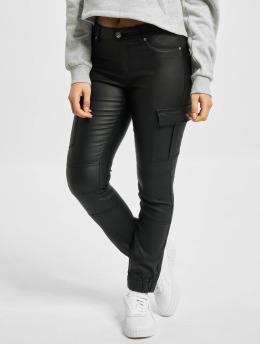 Only Cargo pants onlMissouri Reg Ank Coated svart
