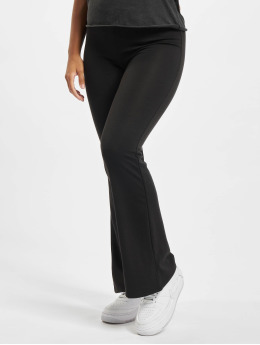 Only Chino Onlfever Stretch Flaired  zwart
