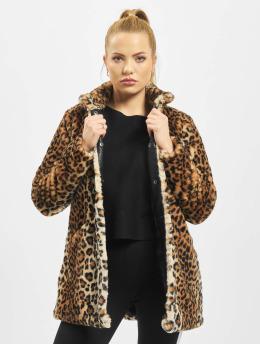 Only Coats onlVida Leo Faux Fur brown