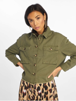 Only Denim Jacket onlMarina olive