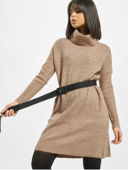 Only Dress onlJana Wool Knit  brown