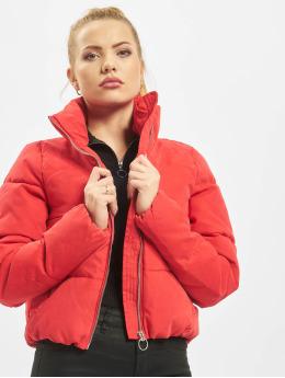 Only Gewatteerde jassen onlDina Short Quilted rood