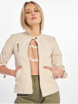 Only Giacca in pelle onlSteady  beige
