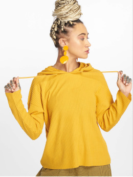 Only Frauen Hoody onlBank in gelb