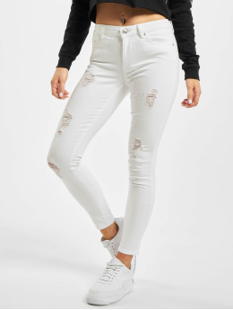 Only Jean skinny onlCarmen Reg blanc