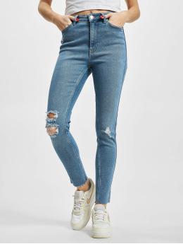 Only Jean skinny  onlBlake Slit Ankle Life High Waist Skinny bleu