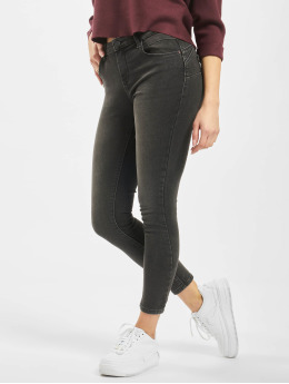 Only Jean skinny onlDaisy Regular Waist Pushup Ankle noir