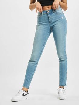 Only Jeans slim fit onlWauw Life Mid Dest BB BJ759 blu