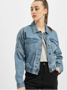 Only Jeansjacken onlRave Life Ela Denim blau