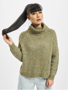Only Jersey onlNew Chunky Rollneck verde