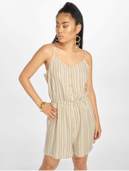 Only Jumpsuits onlShine Playsuit bialy