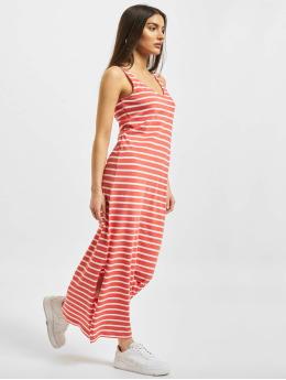 Only jurk onlMay Life S/L V-Neck rood