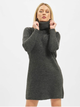 Only Kleid onlJana Wool Knit grau