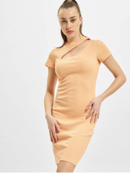 Only Kleid onlNessa Life Cut-Out Box orange