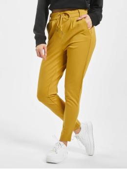 Only Látkové kalhoty onlPoptrash  žlutý