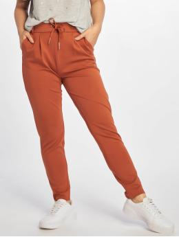 Only Látkové kalhoty onlPoptrash NOS Easy Colour hnědý