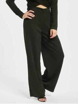 Only Látkové kalhoty onlNew Queen Glitter olivový