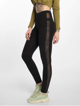 Only Legging onlLive Love Mesh schwarz