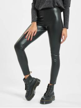 Only Legging onlSuper-Star PU zwart