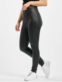 Only Leggings/Treggings onlRachel Faux Leather czarny